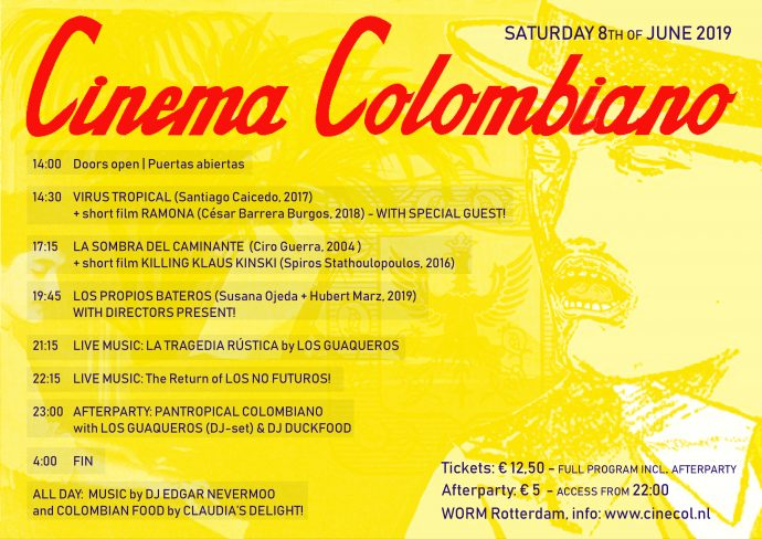 Cinema Colombiano 2019 – WORM